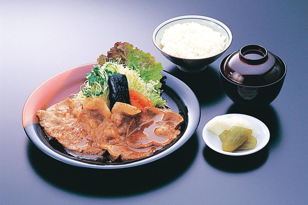 黒豚の生姜焼きセット